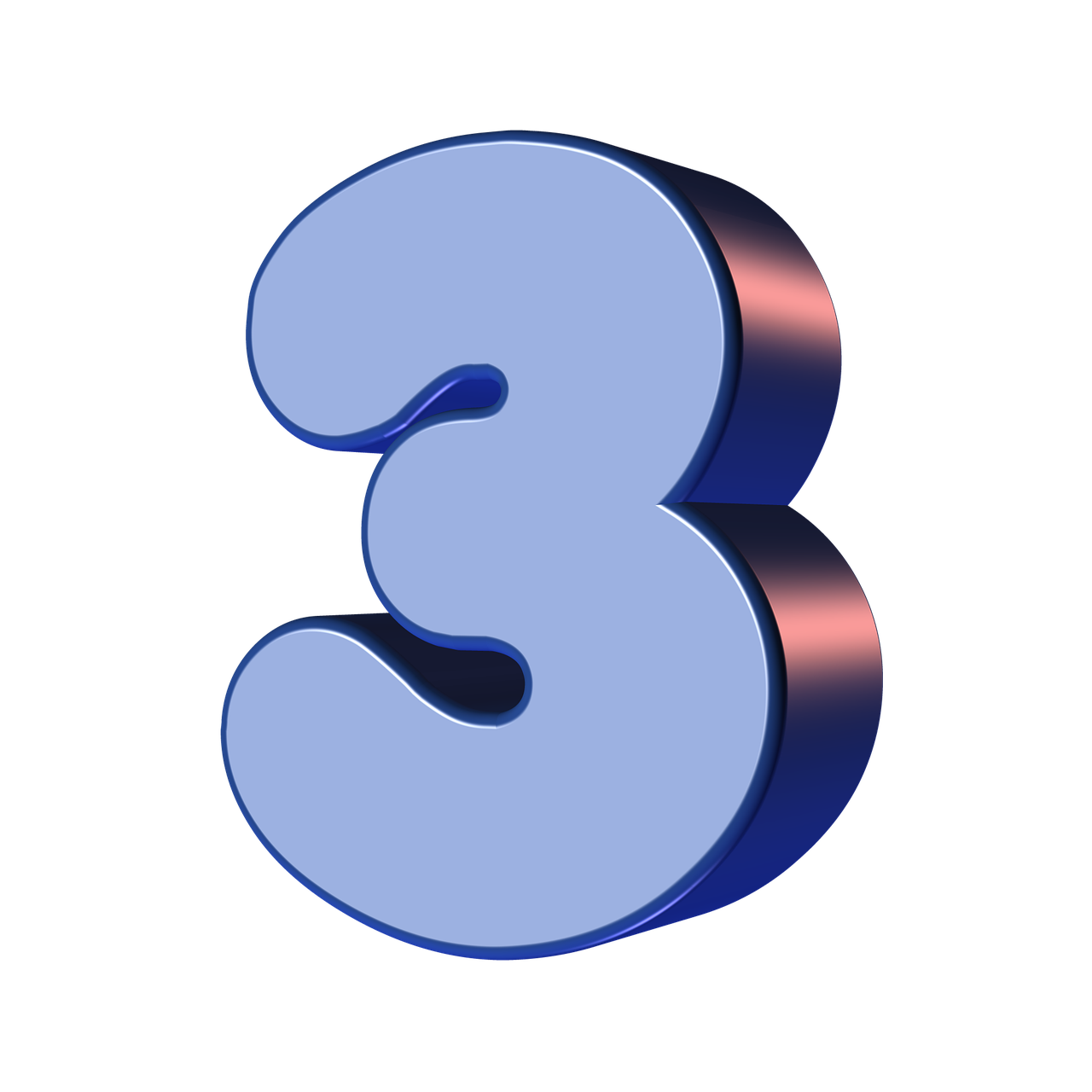 number, three, 3