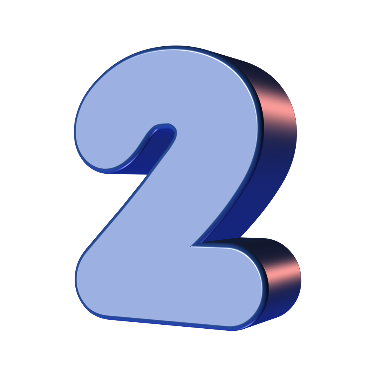 number, two, 2